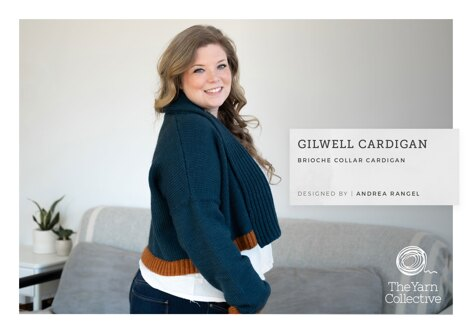 Gilwell Cardigan by Andrea Rangel in The Yarn Collective  - Downloadable PDF