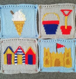 On the Beach Blanket Squares