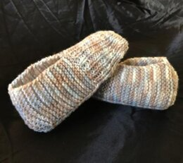 How to Knit a Pair of Slippers