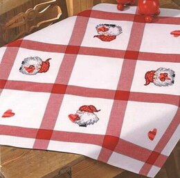 Permin Elf Tablecloth Cross Stitch Kit - Multi