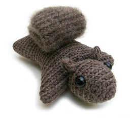Hanna the Squirrel amigurumi