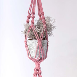 Hoooked Macrame Hanging Basket