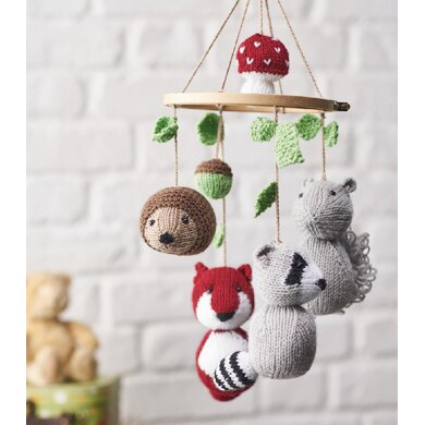 Woodland Tales Animal Mobile