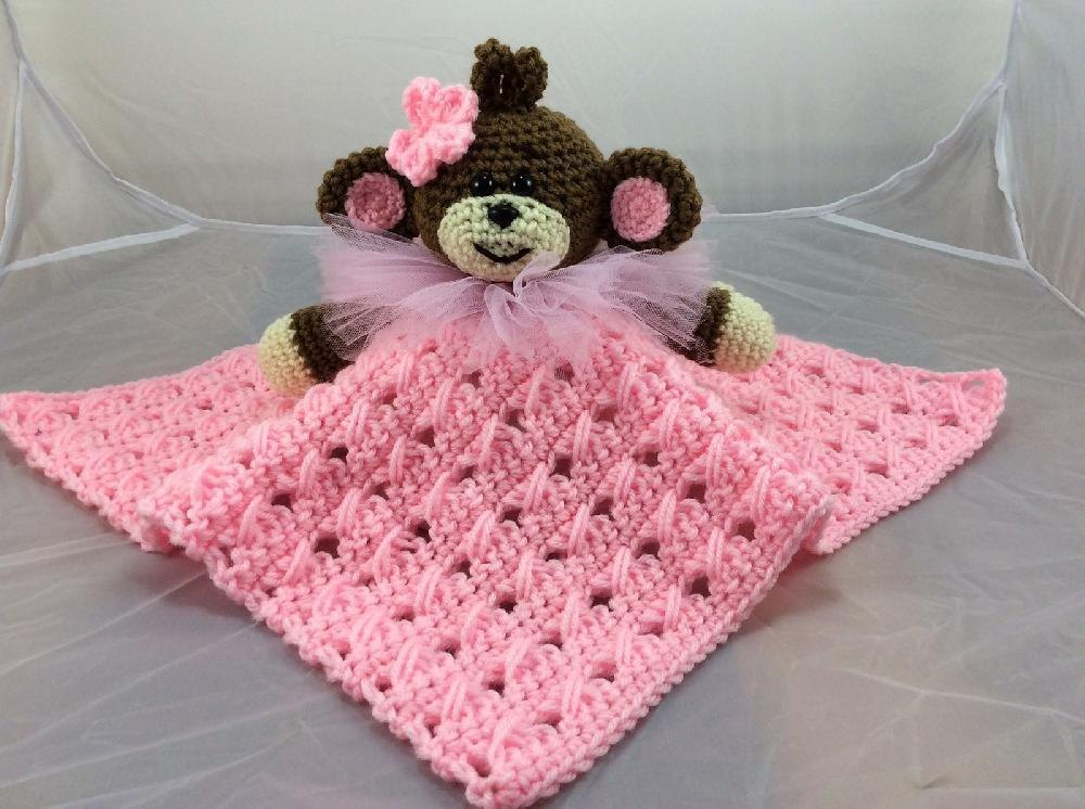 My Lil Monkey Ballerina Lovey Crochet Pattern By Lisa