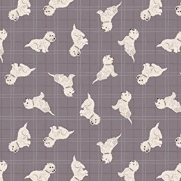 Lewis & Irene A Walk in the Glen Tumbled Westies Warm Check