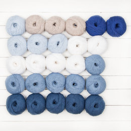 MillaMia Naturally Soft Merino Jane Crowfoot 26 Ball Color Pack - Delft