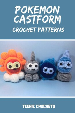 Pokemon Inspired Castform Collection