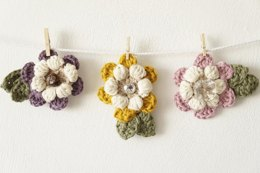 Mother's Day Flower Brooch