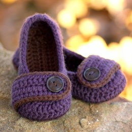 Valerie toddler house slipper pattern