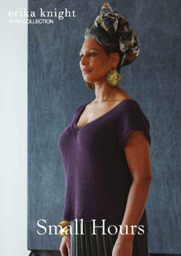 Small Hours Top in Erika Knight Studio Linen - Downloadable PDF