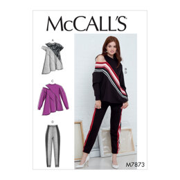 McCall's Misses' Tops and Pants M7873 - Sewing Pattern