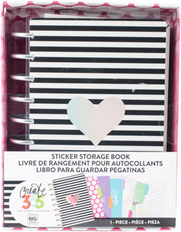 Me & My Big Ideas Happy Planner Sticker Storage Book - Rainbow