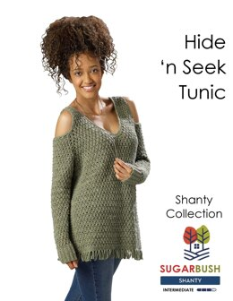 Hide n' Seek Tunic in Sugar Bush Yarns Shanty - Downloadable PDF