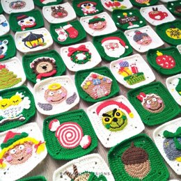 Christmas Granny Squares Collection