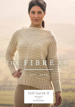 Binsey Jumper in The Fibre Co. Arranmore Light - Downloadable PDF