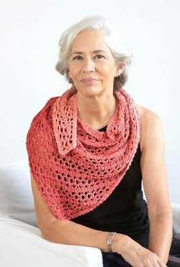 Liri Shawl in Berroco Estiva - 405-2 - Downloadable PDF
