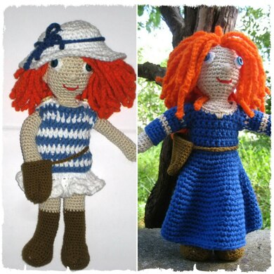 Doll with two outfits