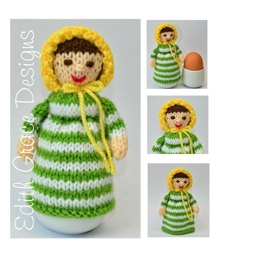 Jane Austen Doll Egg Cosy