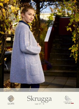 Skrugga Coat in Lopi Lettlopi - Lopi 37-8 - Downloadable PDF