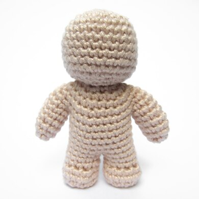 One Piece Crochet Doll Crochet Pattern