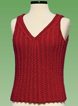 Cable Tank Top - #177