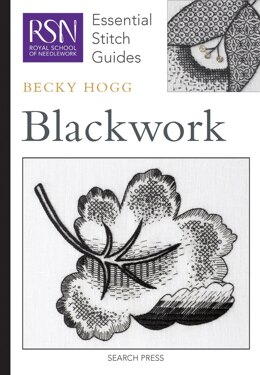 Search Press Royal School of Needlework - Blackwork (Essential Stitch Guide) - 994680 -  Leaflet