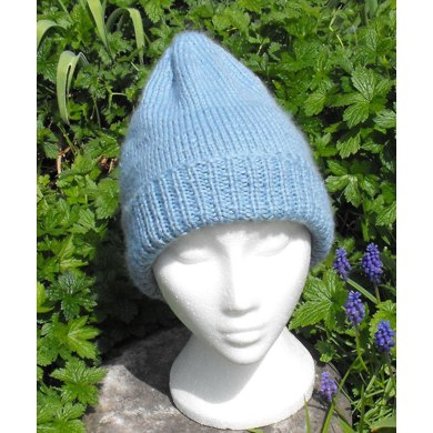 Knitting Pattern For An Aran Hat : POINTY ARAN BEANIE HAT KNITTING PATTERN - MADMONKEYKNITS Knitting pattern by ...