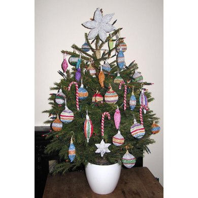 Christmas Tree Baubles and Decorations
