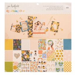 American Crafts Jen Handfield - Reaching out 12x12 Paper Pad