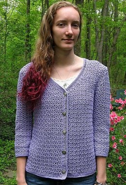 Crazy-Stitch Cardigan