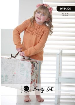Raglan Sweater in DY Choice Fruity DK - DYP326