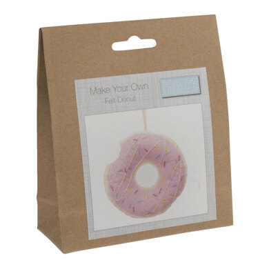 Trimits Felt Decoration Kit: Doughnut - 25 x 115 x 110mm