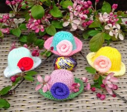 Easter Bonnets - Creme Egg Covers