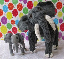 Elsie Elephant and Baby Elvis