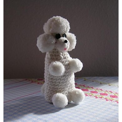 Egg cozy poodle of the fifties