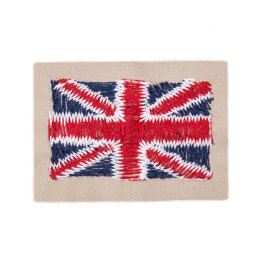 Bergere de France Union Jack Badge