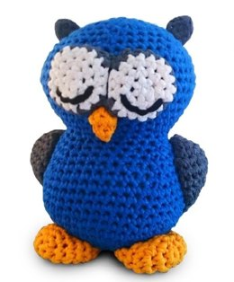 Eddy Owl Toy in Hoooked RibbonXL