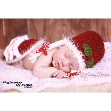 Mrs Claus Baby Tushy Cover Set