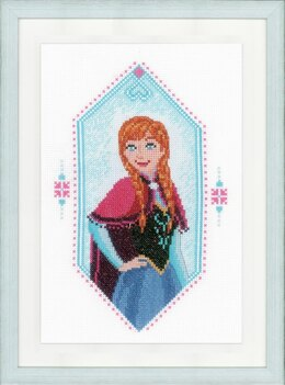 Vervaco Frozen - Anna Cross Stitch Kit - PN-0167299