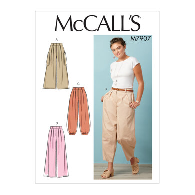 McCall's Misses' Pants M7907 - Sewing Pattern