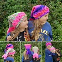 Be a Mermaid Slouchy Hat