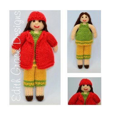 Daisy Rag Doll Toy Knitting Pattern Knitting Pattern By Joanna