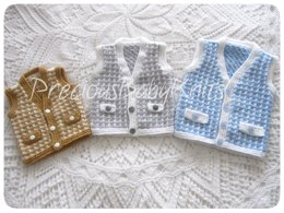 Theo -  Baby and Toddler Waistcoat
