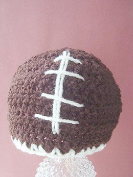399 FOOTBALL BEANIE, all sizes up to adult