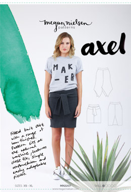 Megan Nielsen Axel Skirt MN2207 - Sewing Pattern
