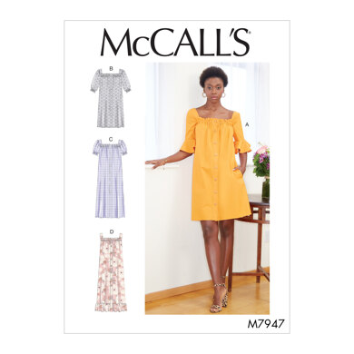 McCall's Misses' Dresses M7947 - Sewing Pattern
