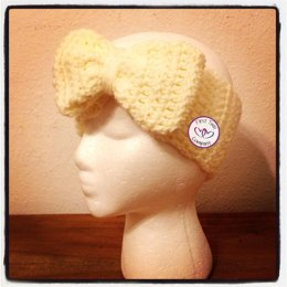 Ear Warmers with Big Bow