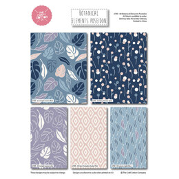 Craft Cotton Company Botanical Elements Fat Quarter Bundle - Poseidon