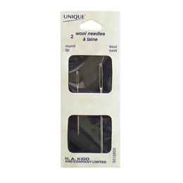 Unique Knitters Needles StainlessSteel 2pc