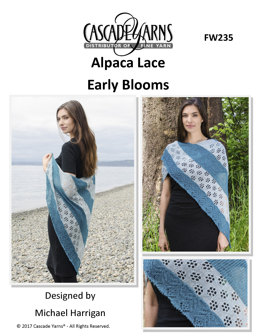 Early Blooms in Cascade Yarns Alpaca Lace - FW235 - Downloadable PDF
